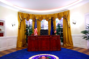 The Oval Office: Barack is unfortunately not included in the package.